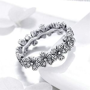Jewelry - 925 Sterling Silver Daisy Ring for Women Sunflower